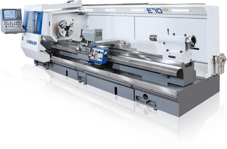 WEILER E70  Precision Lathe Image