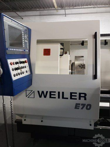 Weiler E70 x 3000 Hollow Spindle Flat Bed Image